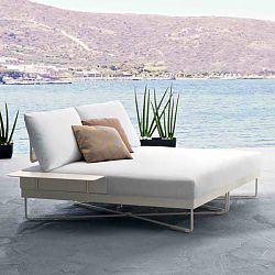 Coral Reef Double and Single Chaise