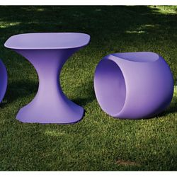 Serralunga Milo Table and Cero Stool