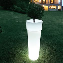 Serralunga Marcantonio Indoor-Outdoor Lighted Planter