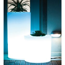 Serralunga Tubini Lighted Indoor-Outdoor Planter