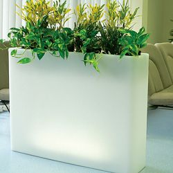 Serralunga Vaso Lighted Indoor-Outdoor Planter