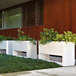 Serralunga Lluna Indoor-Outdoor Planter by Designer Joan Gaspar