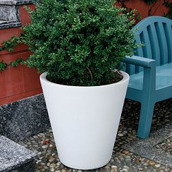 Serralunga Newpot Indoor-Outdoor Planter by Designer Paolo Rizzatto