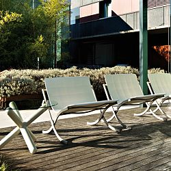 Serralunga Deepdesign Barceloneta Outdoor Lounge Chair