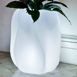 Serralunga Illuminated New Wave Planter