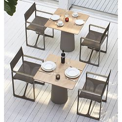Serralunga Lou Lou Dining Table and La Regista Chair