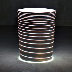 Serralunga Illuminated Grand Jane Planter