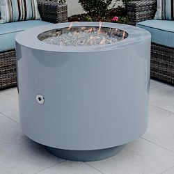 37'' Round Powder Coated Hidden Tank Fire Pit
