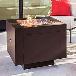 31'' Square Powder Coated Fire Pit