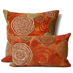 Graffiti Swirl Warm Pillow
