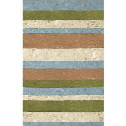 Stripe Green Rug