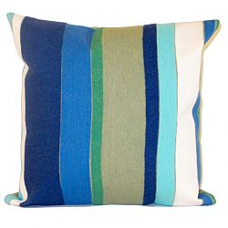 Vertical Stripe Seaside Pillow