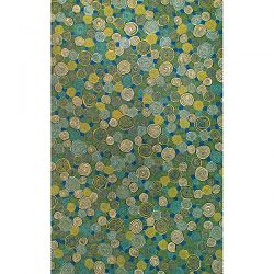 Giant Swirls Marina Outdoor Rug