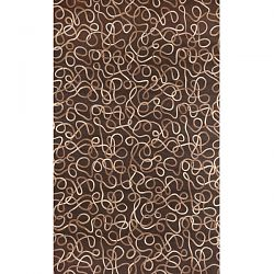 Ombre Squiggles Desert Sand Rug
