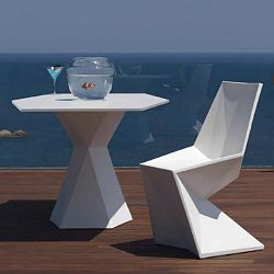 Vertex Outdoor Bistro Table and Chairs