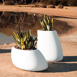 Stone Outdoor Planter Collection