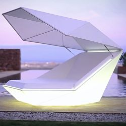 Illuminated Faz Outdoor Daybed