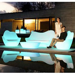 Sabinas Illuminated Outdoor Seating Collection