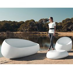 Stone Outdoor Seating Collection