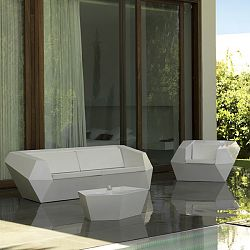 Faz Outdoor Sofa and Lounge Chair