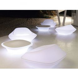 UFO Illuminated Outdoor Seating