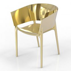 Africa Chair in Metallic Colors