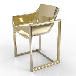 Wall Street Metallic Chair