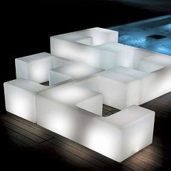 21st Living Art Illuminated Happy Hour Modular Outdoor Seating