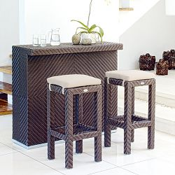 Skyline Design Cuatro Bar Table and Stool Set