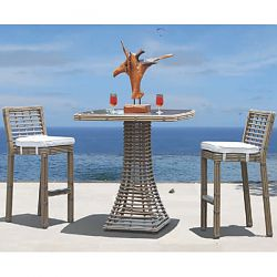 Skyline Design Topaz Bar Table and Stools