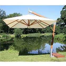 Offset Bamboo Umbrella