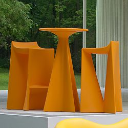 Jux Bar Table and Stool Collection