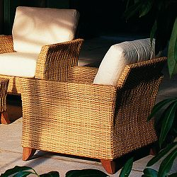 Rausch Furniture Rausch Outdoor Wicker Palm Beach Club Chair