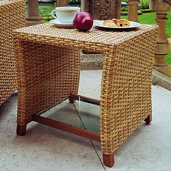 Rausch Furniture Rausch Outdoor Wicker Side Table