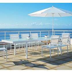 Rausch Aluminum Outdoor Dining Table Chair Collection