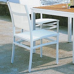 Rausch Aluminum Long Beach Stacking Patio Chairs