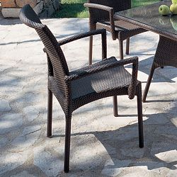 Mocca Chair With Beach Club Table