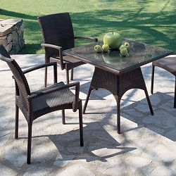 Rausch Furniture Rausch Wicker Sunny Beach Stacking Dining Chairs