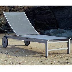 Rausch Furniture Rausch Aluminum Long Beach Chaise Lounge