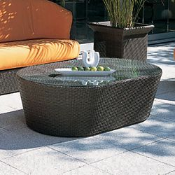 Rausch Eden Roc Outdoor Wicker Couch Table