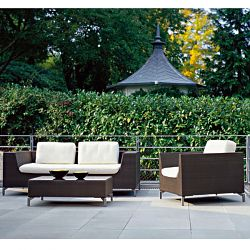 Rausch Cubic Bay Outdoor Wicker Sofa