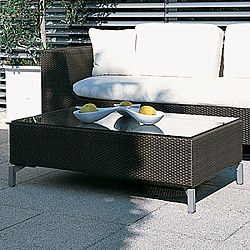 Rausch Furniture Rausch Cubic Bay Outoor Wicker Coffee Table