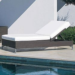 Rausch Cubic Bay Wicker Chaise Lounge