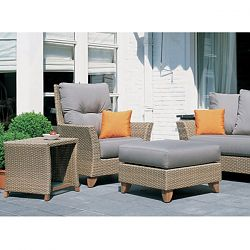 Rausch Palm Beach Wicker Sofa and Lounge Chairs