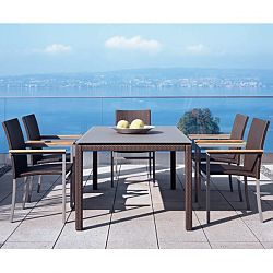 Rausch Furniture Rausch Mocca Wicker Casual Dining Collection