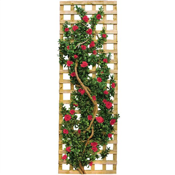 Artificial Outdoor Azalea Vine And Trellis At