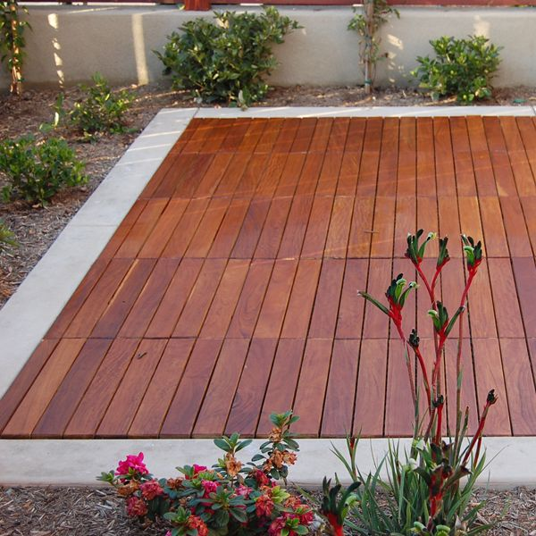 Curupay, Outdoor, Wood, Deck, Tiles