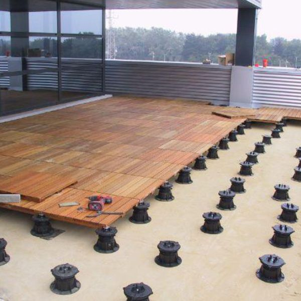 Ipe outdoor structural wood deck tiles for External timber decking