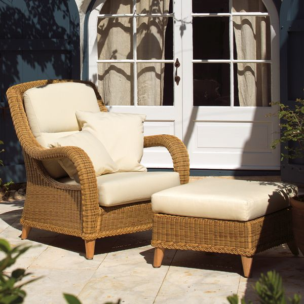 Point kenya chair modern outdoor wicker patio lounge for Outdoor furniture kenya