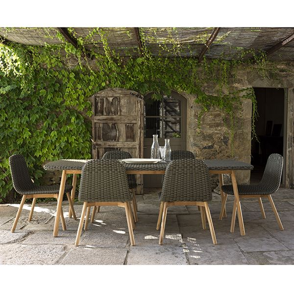 a0d57d1f9fe Point Round Outdoor Dining Table